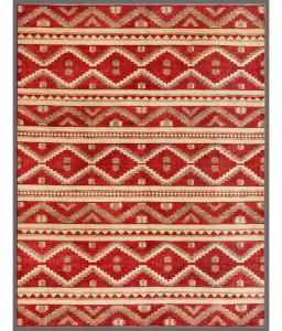Red Pakistani Gabbeh Rug
