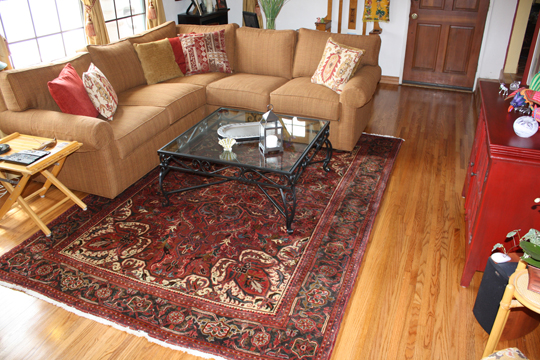 How to Choose an Oriental Rug Size - Catalina Rug
