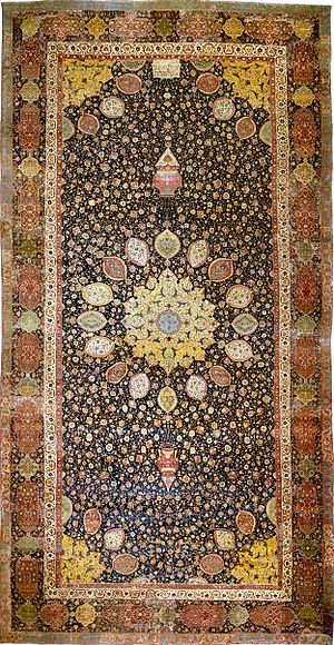 This is the oldest Ardabil Rug  was found