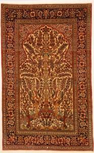 """Isfahan Rug 4'3"""" x 6'9"""""""