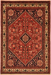 "Abadeh Rug 3'4"" x 4'11"""