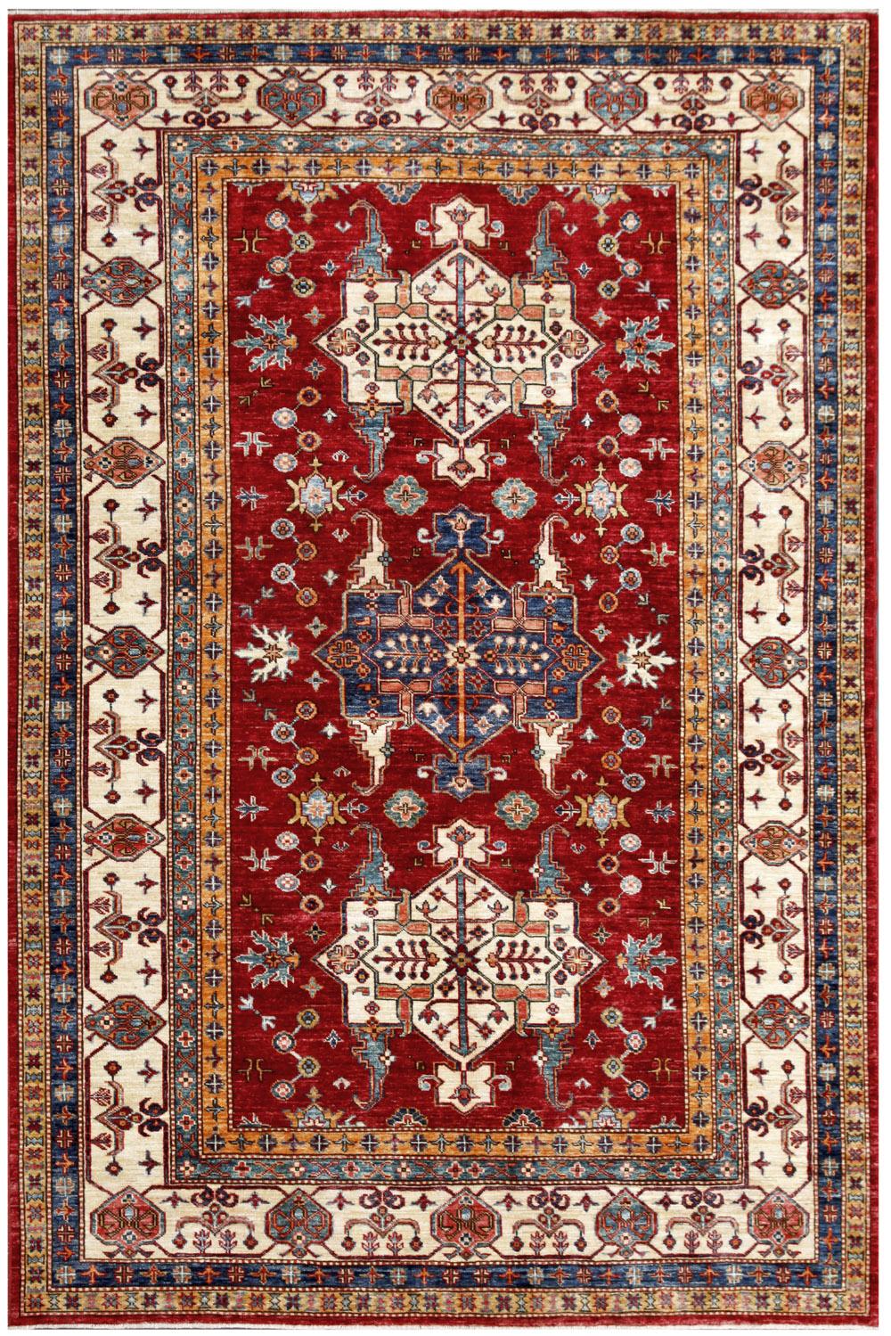 kazak 5 39 9 x 8 39 6 catalina rug. Black Bedroom Furniture Sets. Home Design Ideas