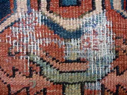 Oriental Rug Repair Guide Before Amp After