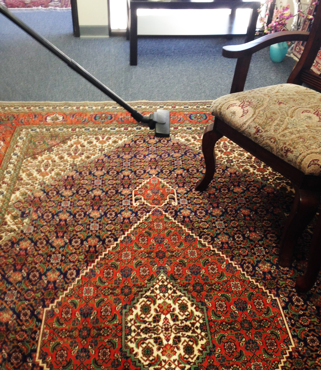 How To Vacuum Your Oriental Rug
