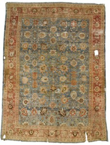 The third  of most expensive rugs
