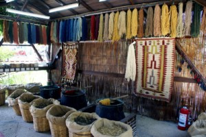 colors in Hand Knotted Oriental Rugs comes from vegetable dyes