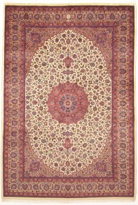 Rug From workshope  with signature of Astan Ghods