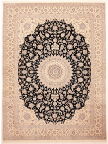 Nain Rug with signature of Iran Rug co.