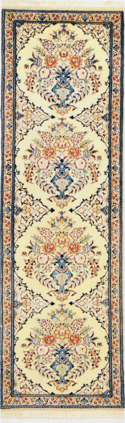 Nain Rug with pattern of vase