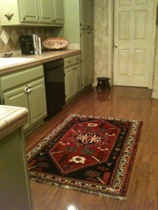 Using different size of runner rugs on Kitchen