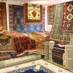 Store full of persian rugs