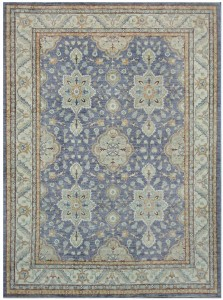 Summer rugs Peshawar with light colors and simple pattern