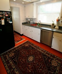 A Rug In The Kitchen