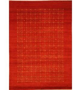 Orange Indian Gabbeh Rug