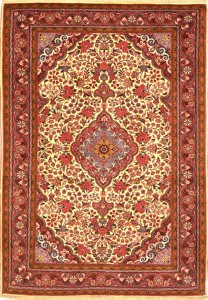 Hand Knotted Malayer Persian rug