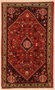 Medallion Abadeh Rug With Fine Pattern