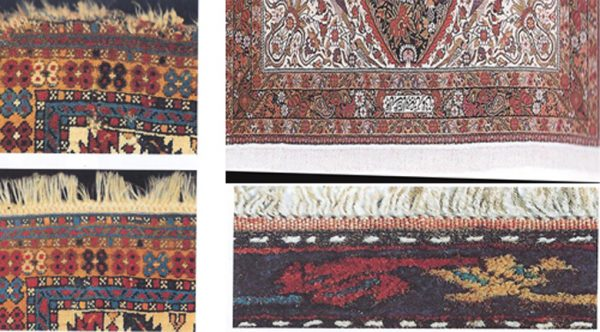 Persian Rug With Fringes