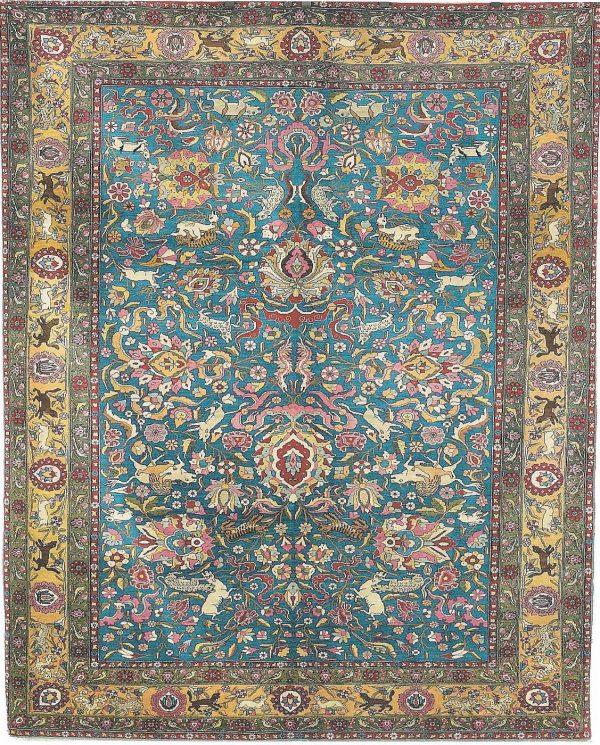 Tehran Rug From Persia