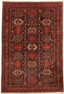 Heriz rug in age of 120 year to took care of it perfectly