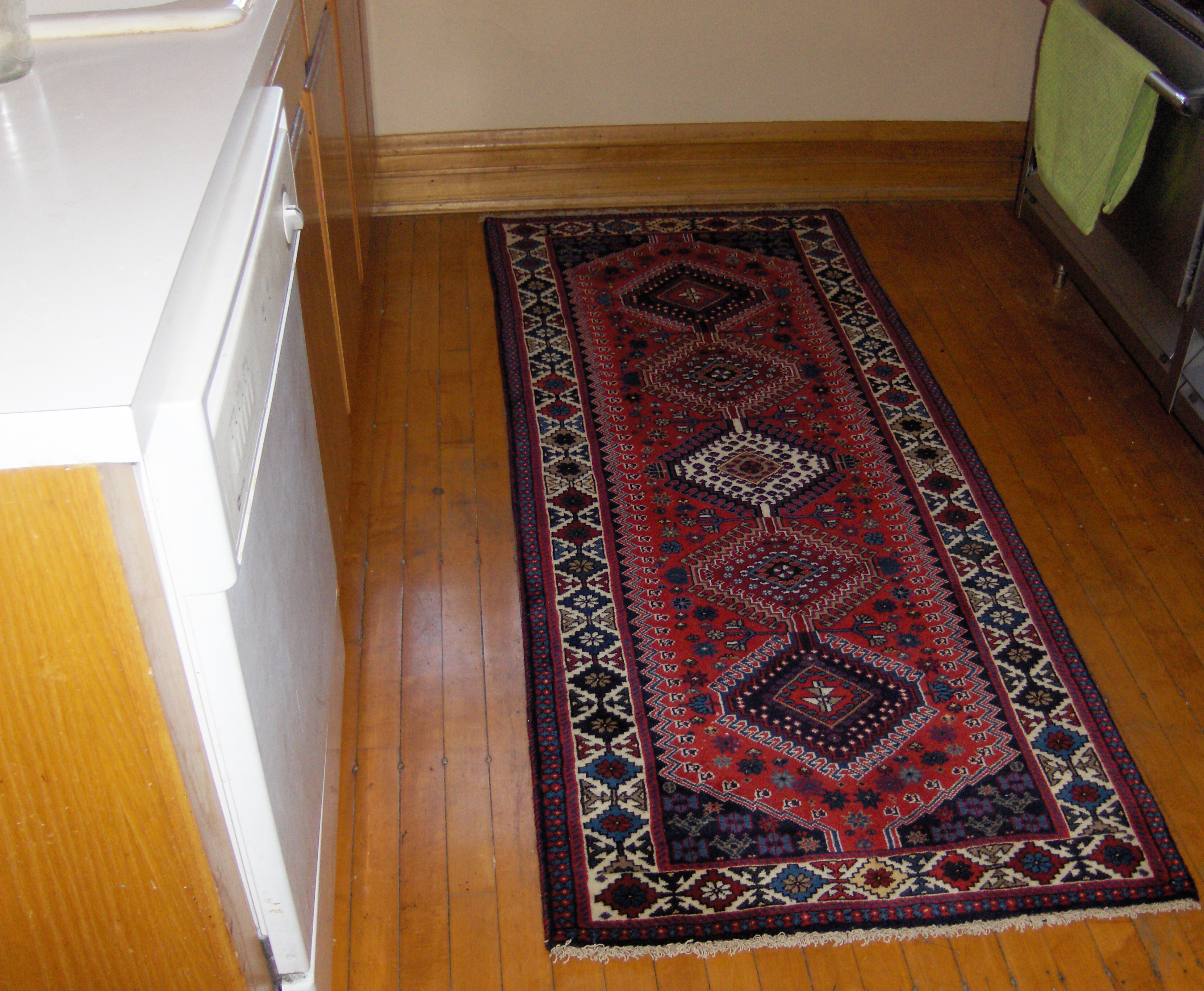Small Runners Oriental Rugs Abadeh Runner From Persia