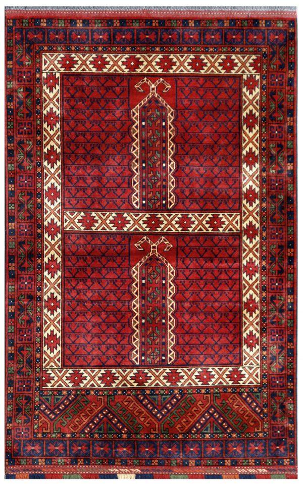 "Khan Mohammadi Rug 4' x 6'1"""
