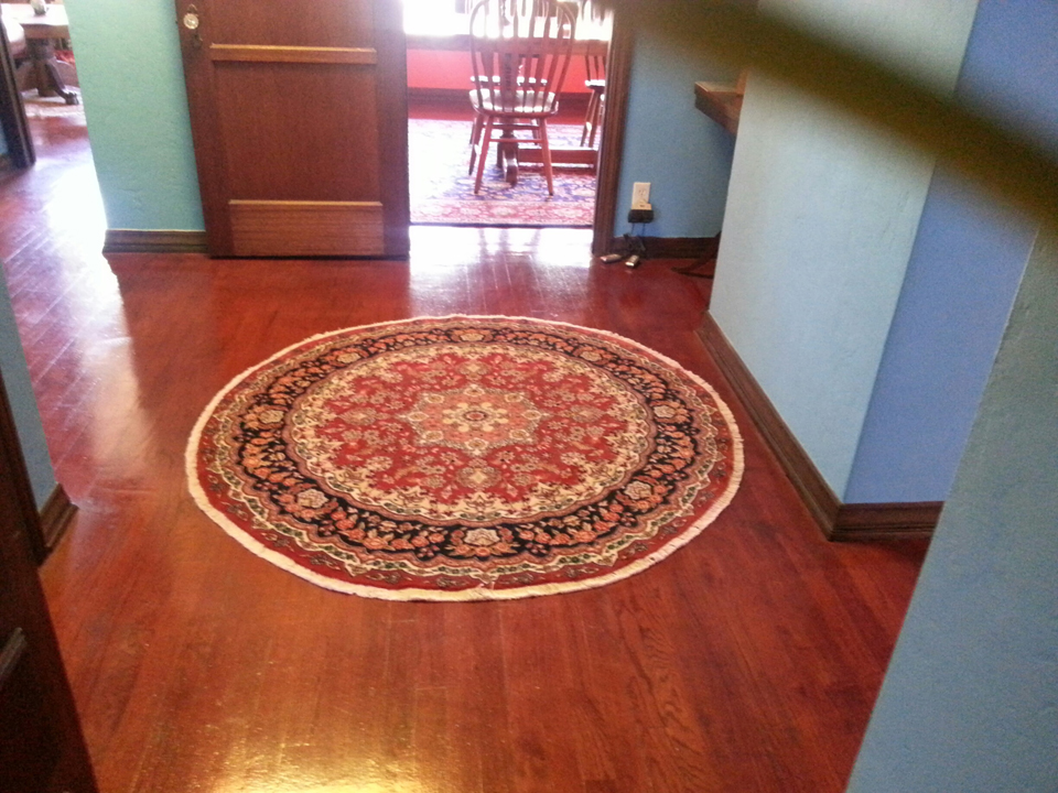 Foyer Rug Rules : How to choose an oriental rug size catalina