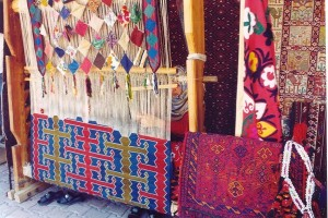 The loom for weaving Kilims