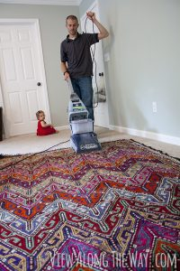 How to clean Your kilim