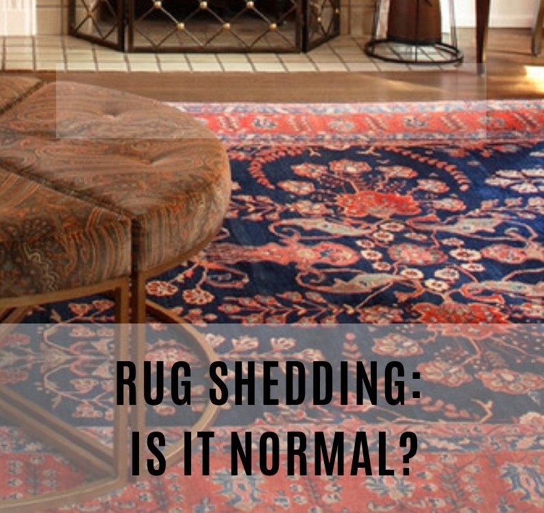 Rug Shedding Is It Normal Catalina