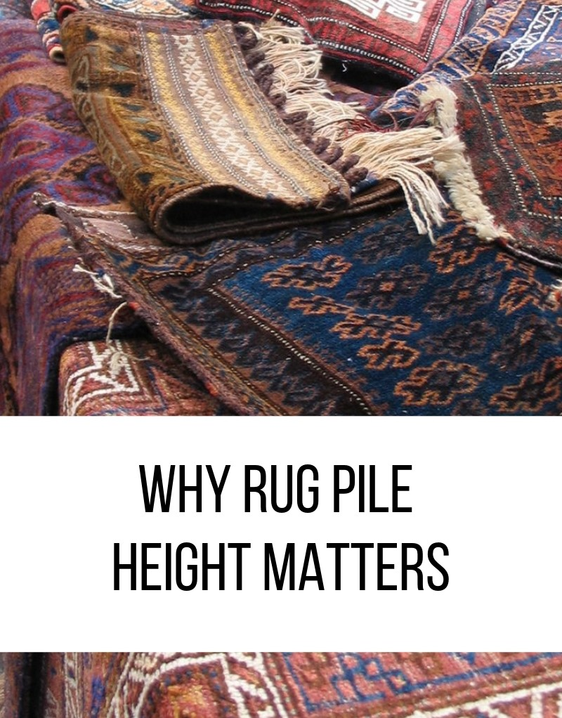Why Rug Pile Height Matters Catalina