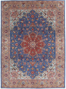 Blue Floral Persian Rug