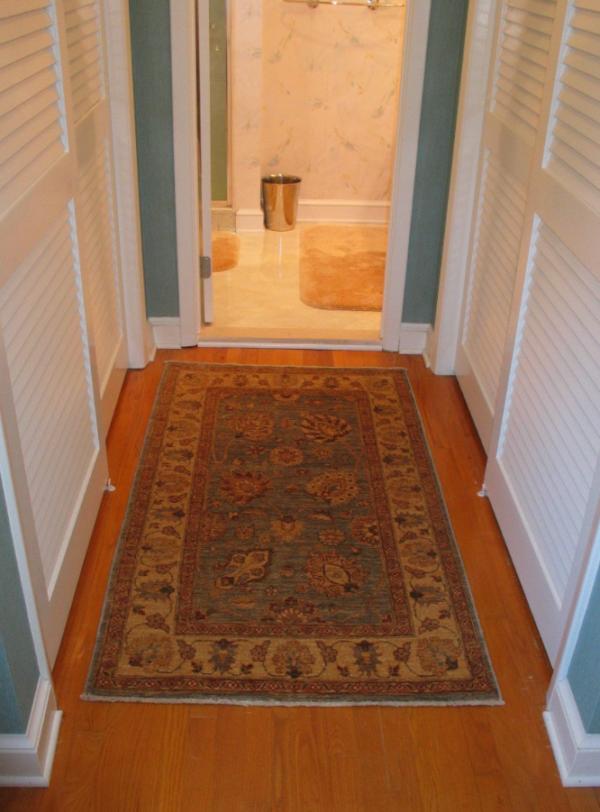 Persian Rug In The Bathroom