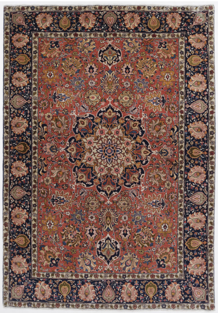 Authentic Persian Rugs are Always Hand Knotted