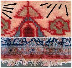 Color Bleeding In A Persian Rug
