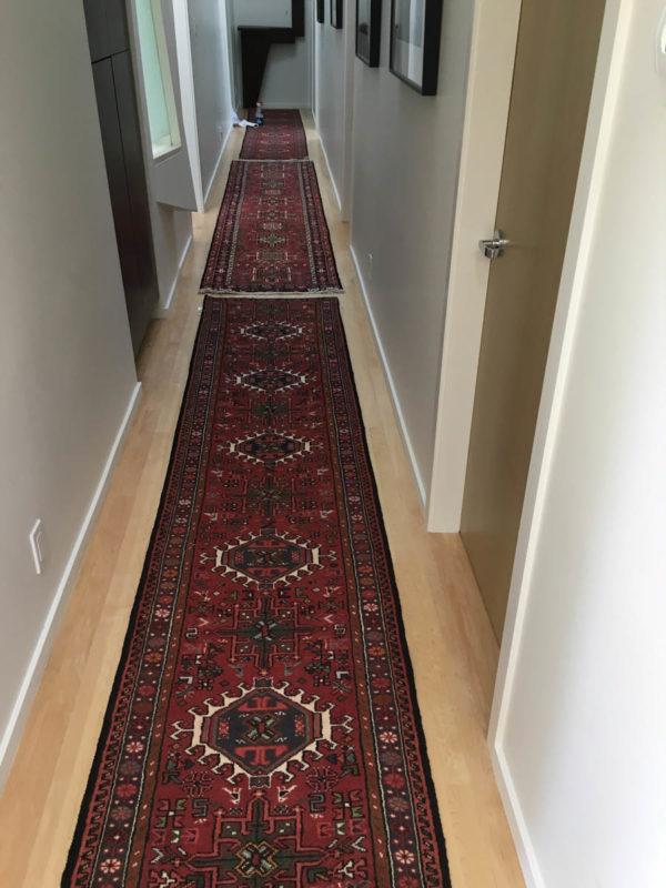 Karaja Persian Runner In The Hallway