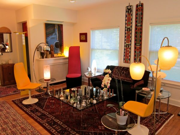 Qashqai Persian Rug In The Living Area