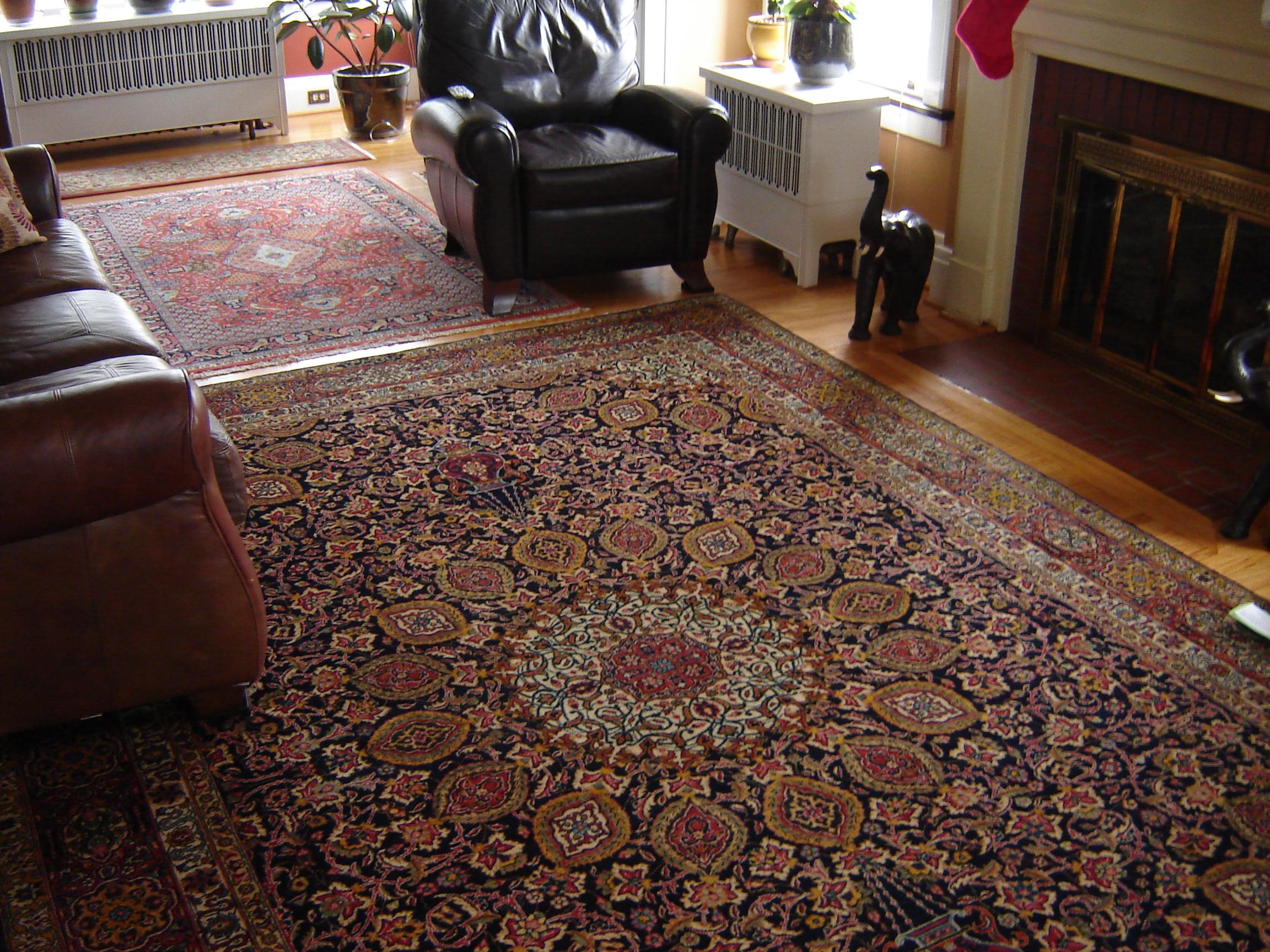 Large Traditional Tabriz Rug