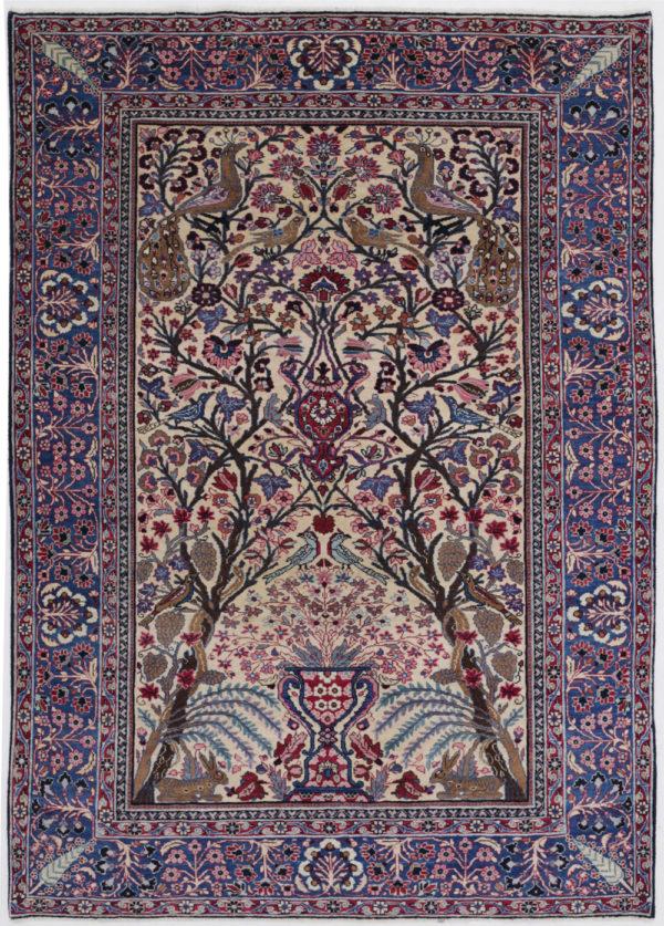 Tabriz_Tree Of Life Fine Persian_Rug