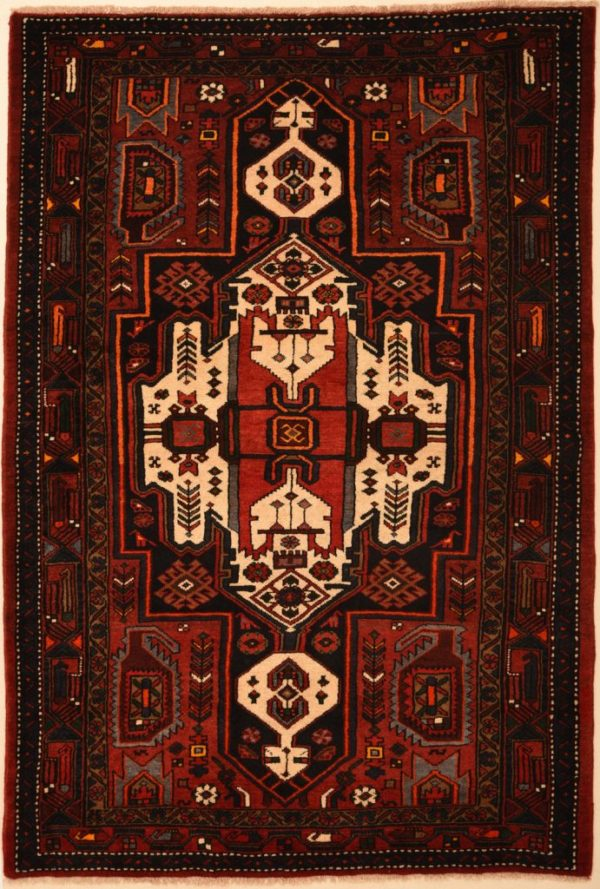 Zanjan Rug With Design Similar To Hamadan