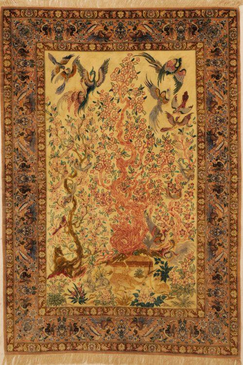 Isfahan Rug 3'9