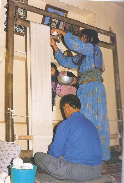 Foundation On A Loom – Turkish Bijar Weaing Style