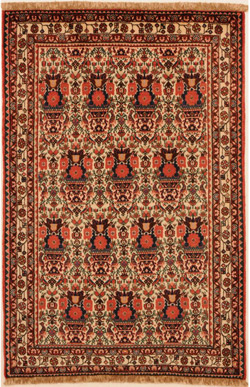 Abadeh rug with a Zellol Sultan pattern