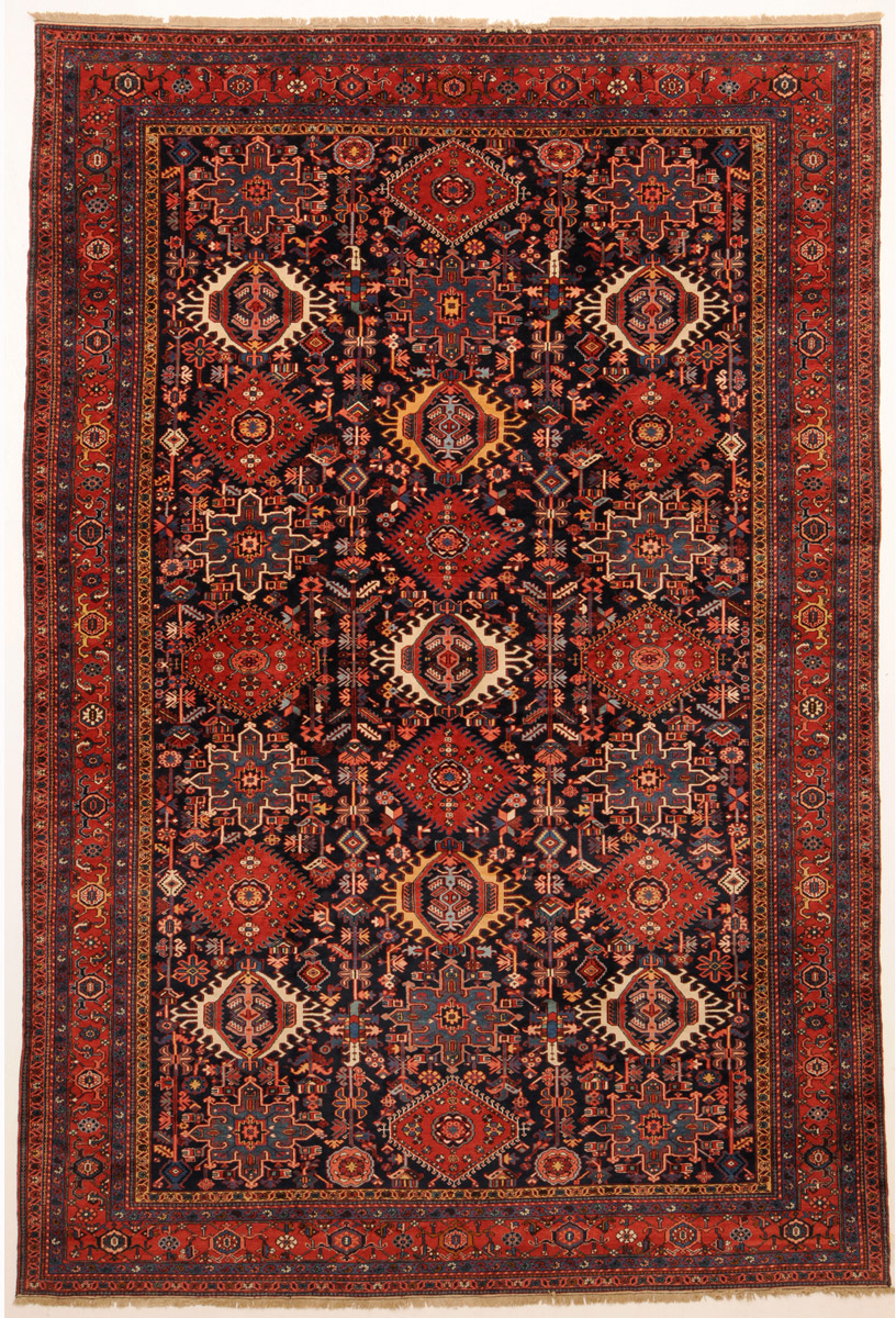 Example Of An Antique Heriz Persian Rug