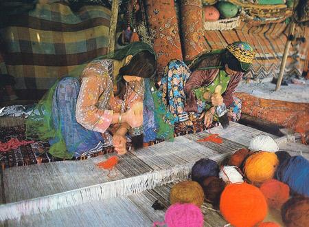 Bakhtiari Rug Weavers