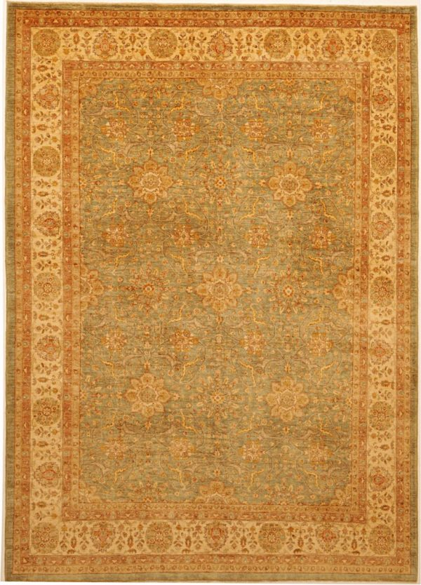 New Peshawar Rugs with Antique Finished