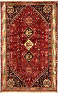 qashqai rug with diamond madallion